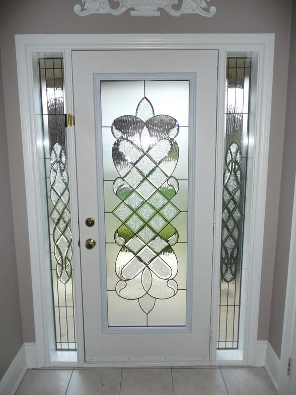 Decorative Stained Gl Door Inserts Wrought Iron Toronto Newmarket Aurora Keswick Bradford Richmond Hill Oak Ridges